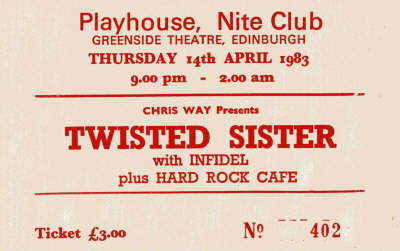 Twisted Sister - Apr '83